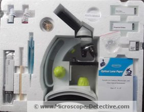 Inside of the TK2 Microscope for kids www.microscope-detective.com/microscope-for-kids.html