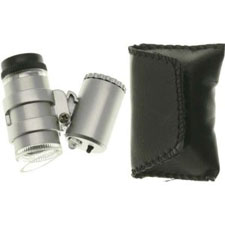 The SE Mini Illuminated Pocket Microscope