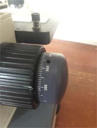 amscope m150c microscope fine focus adjustment knob