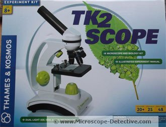 Thames & Kosmos TK2 Scope www.microscope-detective.com/microscope-for-kids.html