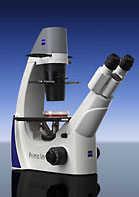 Zeiss Inverted Microscope: The Primo Vert Model
